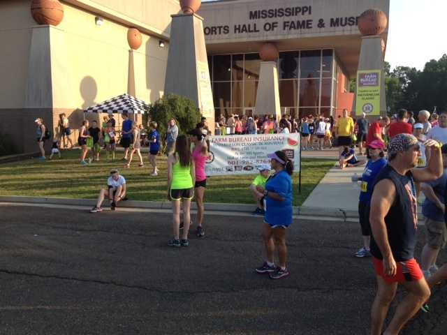The 30th annual Farm Bureau Watermelon Classic kicked off Thursday morning outside the Mississippi Sports Hall of Fame.