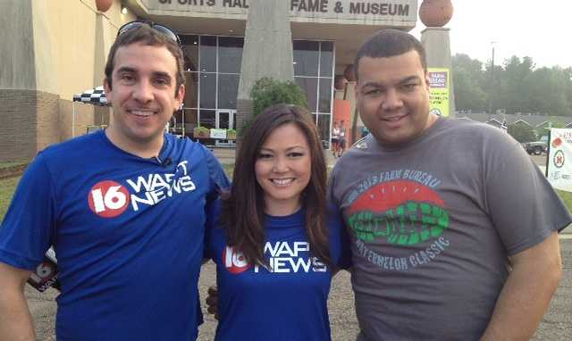 A few familiar faces with 16 WAPT News were spotted out there, including Ethan Huston, Keegan Foxx and Andrew Kinsey.