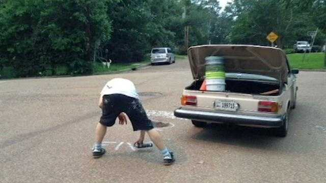 Robin Hood fixes potholes