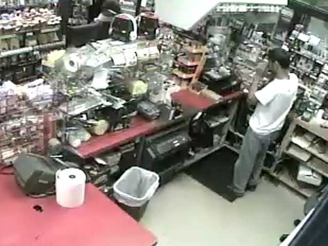 The Jackson Police Department says the Fast Lane service station at 1302 North State St. was robbed on July 10 and July 13.