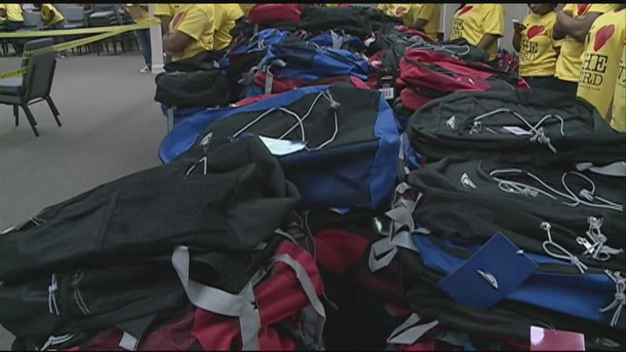 A Church Gives Free Backpacks to Kids