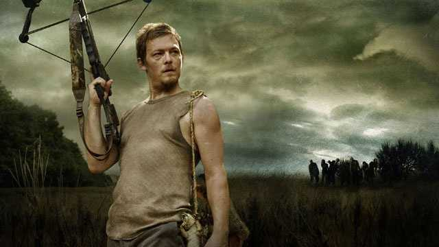 "Norman Reedus plays Daryl Dixon on AMC's ""The Walking Dead."""
