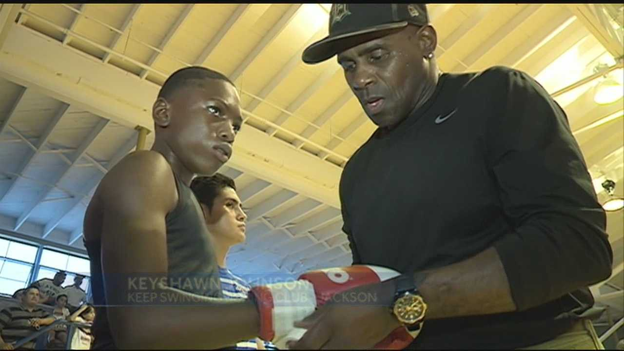 Pearl boxing held a weekend exhibition Saturday even at the old Pearl high school gym