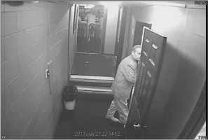 Ridgeland police release surveillance photos of a man wanted in connection with the theft of a tip jar.