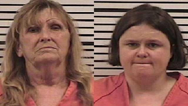 Mary Mayes and Teresa Mayes