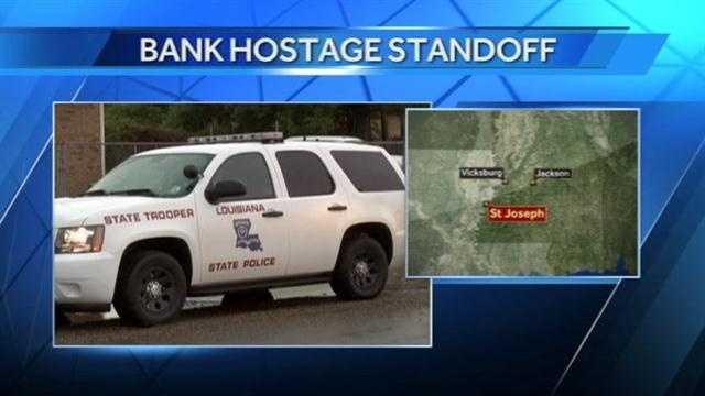 Bank hostage standoff