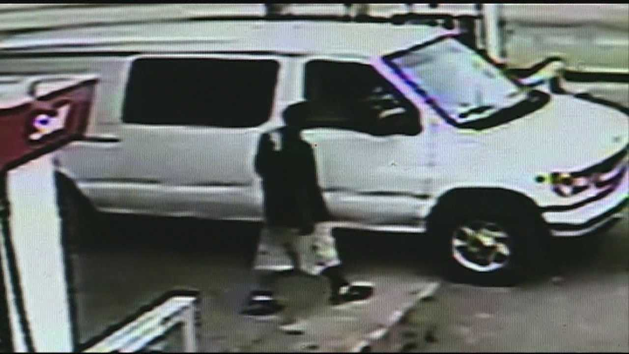 Police arrested 23-year-old Joshua Banks in connection with a gas station shooting.