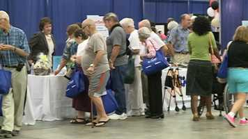 Vendors gave out valuable information and free samples.