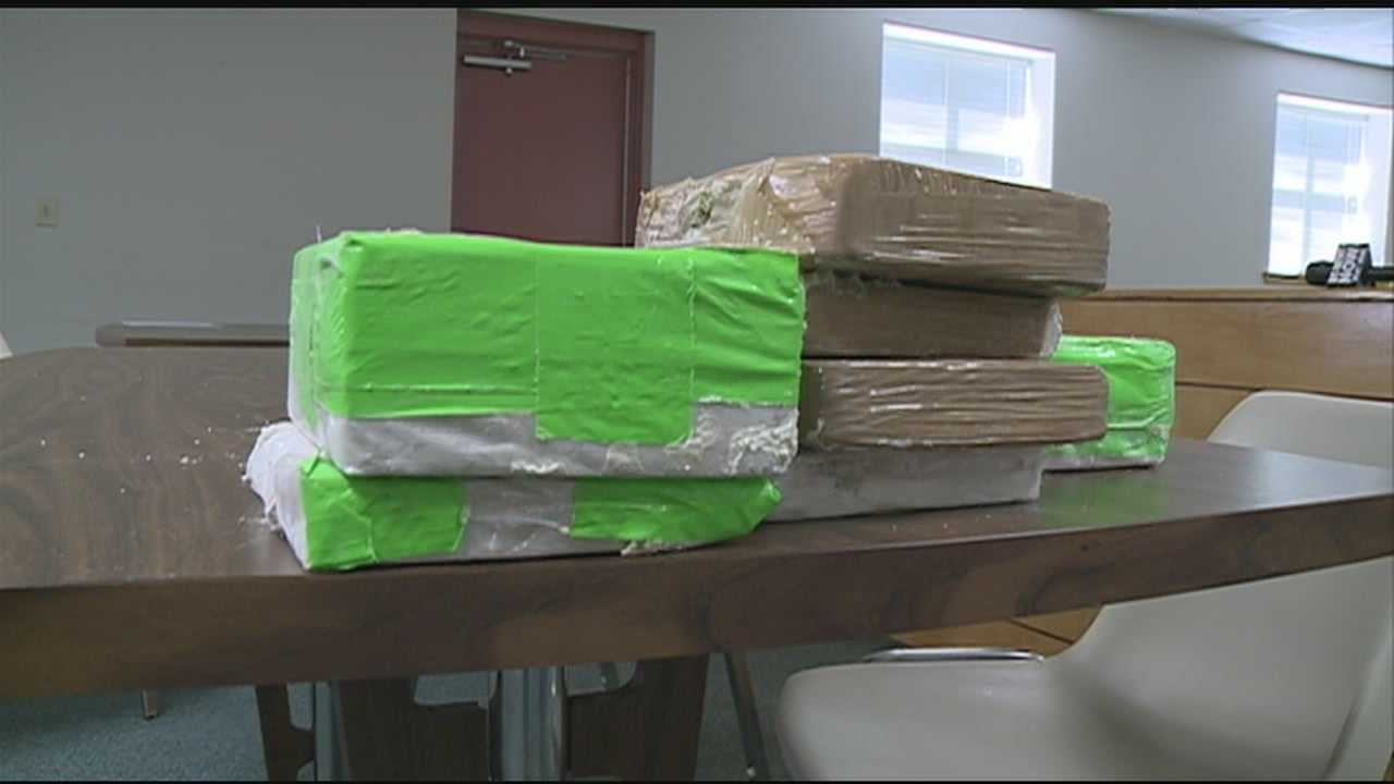 Rankin County law enforcement said an early morning traffic stop led to a record setting drug bust.