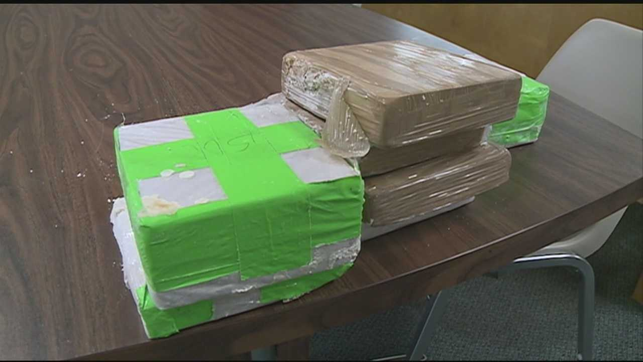 Rankin County authorities celebrated a major drug bust from over the weekend that took more than a million dollars worth of heroin off our streets.