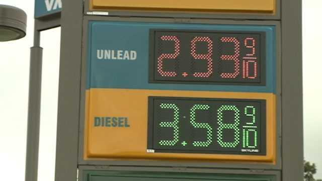 gas $2.93 in Vicksburg
