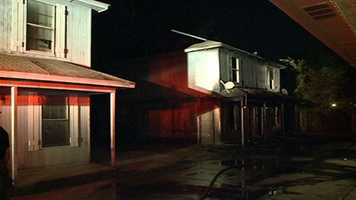 The fire was reported about 1 a.m. on County Cork Road, off Briarwood Drive, fire officials said.