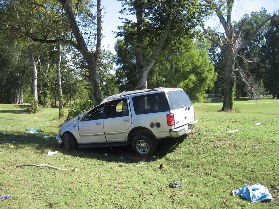 Two people were killed Wednesday in a crash north of Eagle Lake, MHP said.