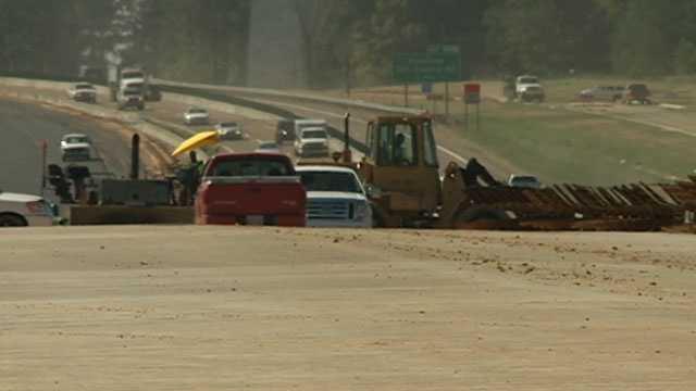 I-55 construction madison