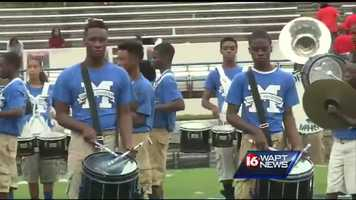 Bands came from all over the state to perform in Sunday's competition in Jackson.