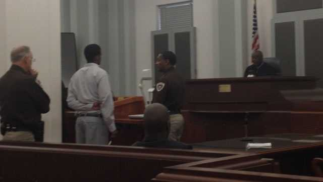 Dumaine Bradley enters a guilty plea to a manslaughter charge.