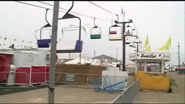 Mississippi State Fair skyride