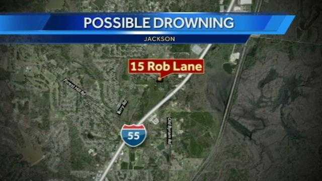 possible drowning map