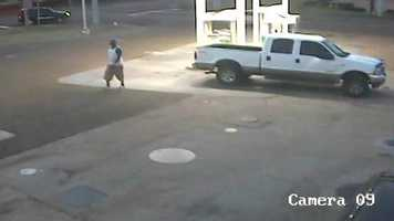 Jackson police are hoping someone can identify a man shown in surveillance photos who is suspected of a car burglary.