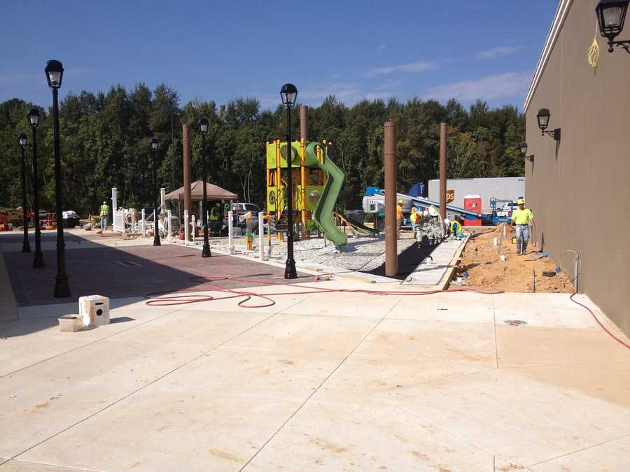 The outlet mall is set to open Nov. 14.
