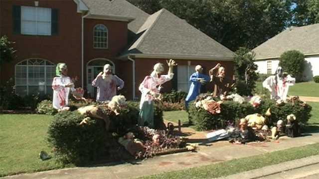 Madison Halloween house