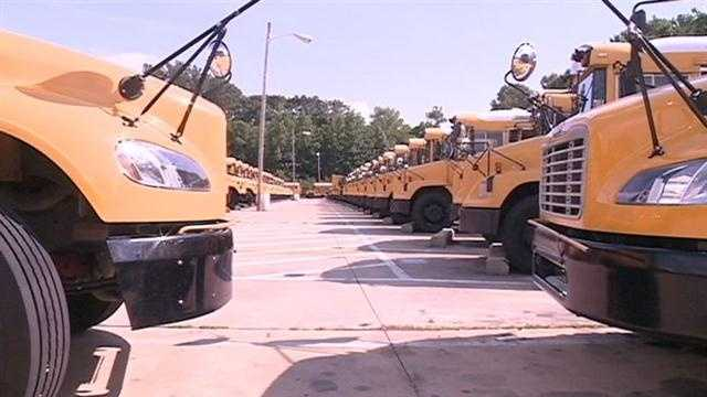 School buses generic bus