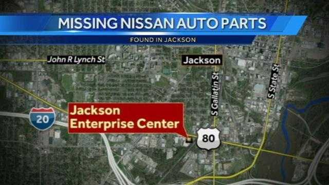 Missing Nissan parts