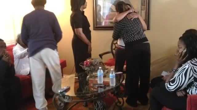 Relatives mourn after learning that their loved ones were found dead.