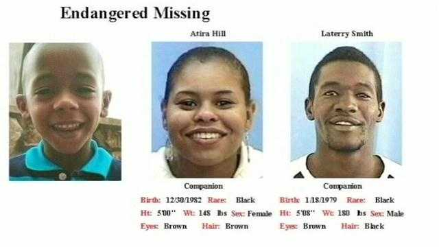 The family was last seen in their vehicle on Friday.