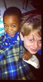 Jaidon Hill was a classmate of Scott Simmons' son, Evan, who is pictured here.