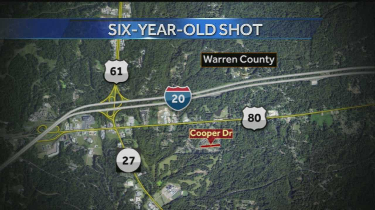 6-year-old shot in the head