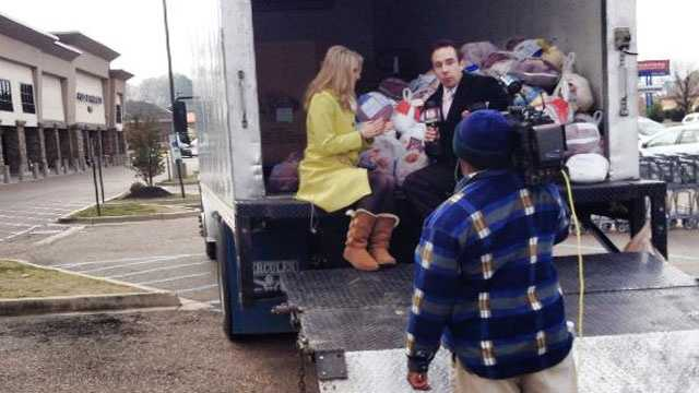 16 WAPT's Megan West and Ethan Huston provide updates on the Turkey Drive 16.