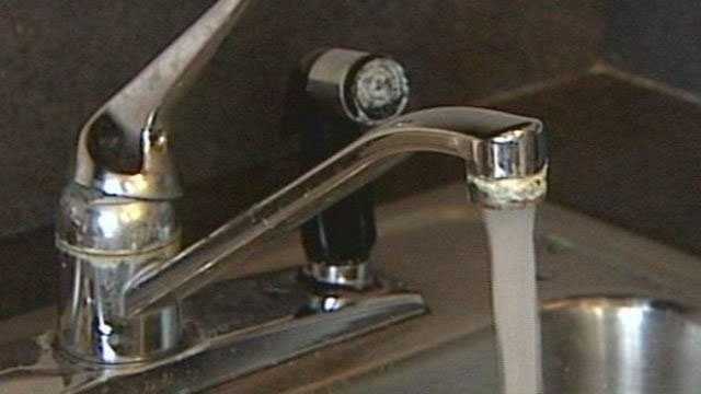 water faucet sink boil water alert