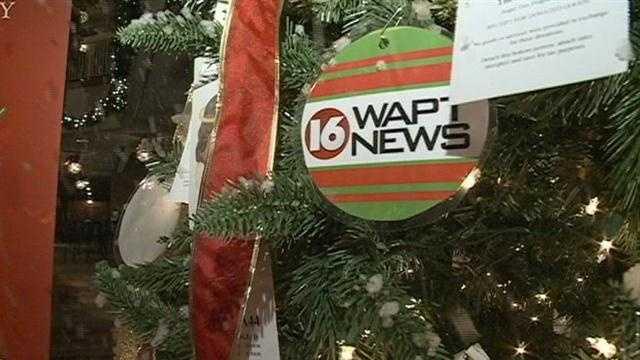 Angel Tree with 16 WAPT ornament