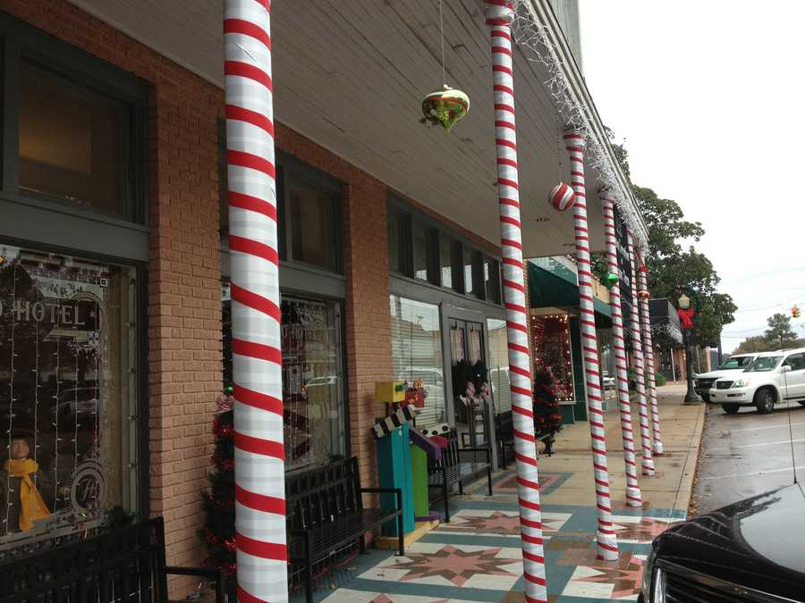 The Canton Square will be decorated with more than 200,000 Christmas lights.