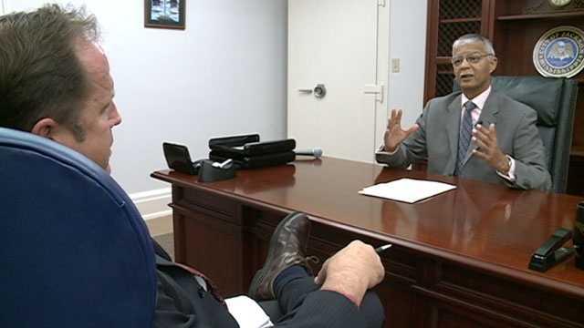 Scott interviews Lumumba