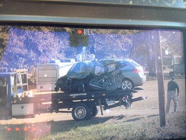 The wreck involved an SUV and an 18-wheeler.