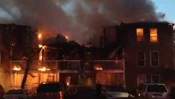Residents of a Brandon apartment complex watched as their possessions went up in flames. Click here for the story, pictures and video.
