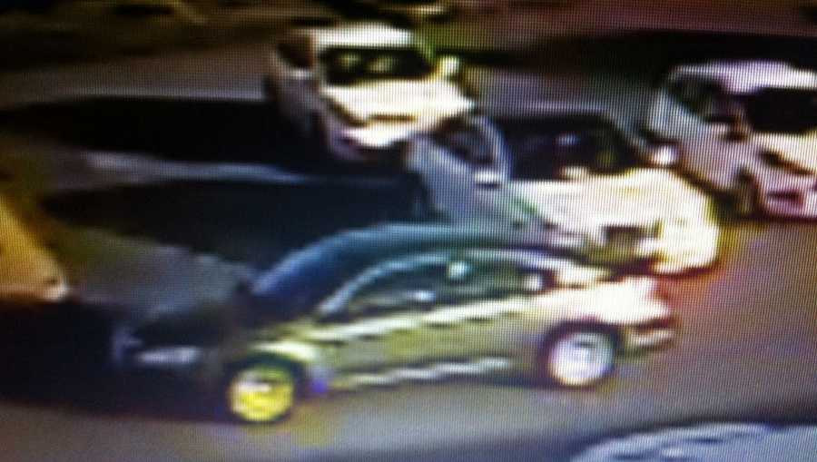 The car the gunmen used to escape appears to be a silver sedan, police said.
