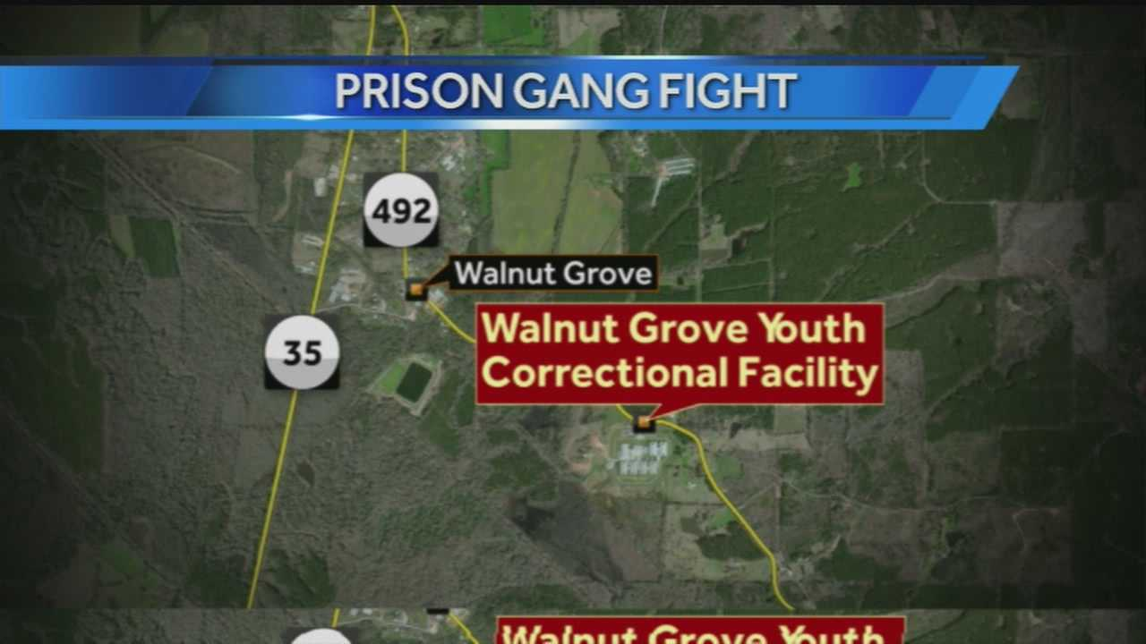 Walnut grove prison fight map