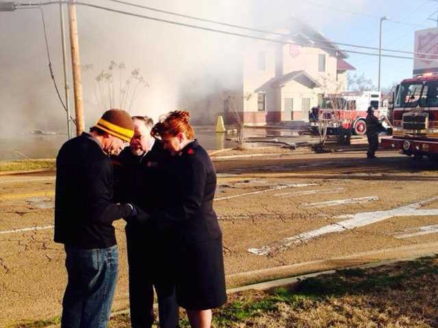 Click here to see pictures from the fire scene.