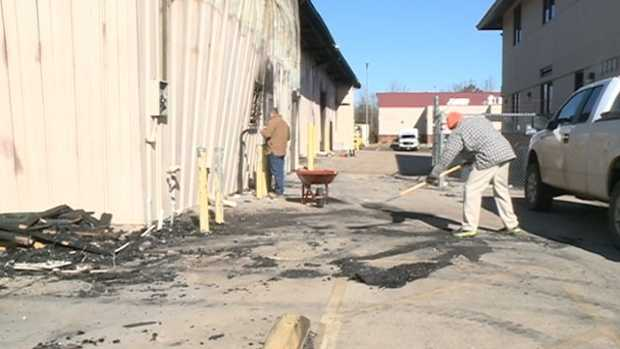 The Salvation Army is moving forward after a fire destroyed the thrift store on Presto Lane. Click here for pictures of the cleanup.
