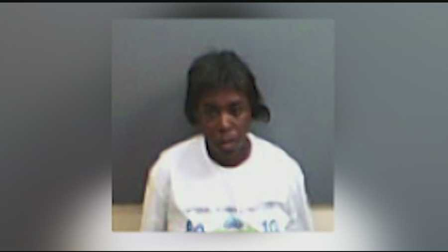 Jalonda Towers, 38, is accused of setting her own house on fire.
