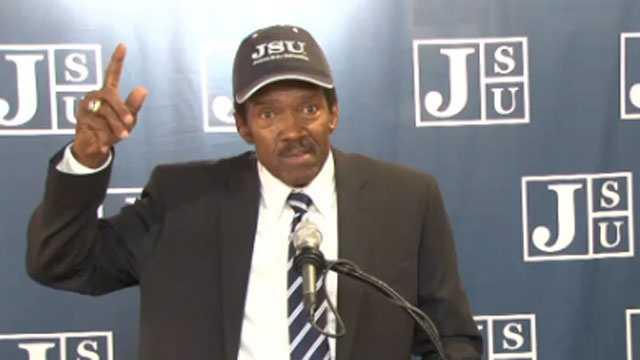 JSU coach harold jackson
