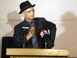 Mayor Lumumba addresses the people of Jackson after sales tax vote passes