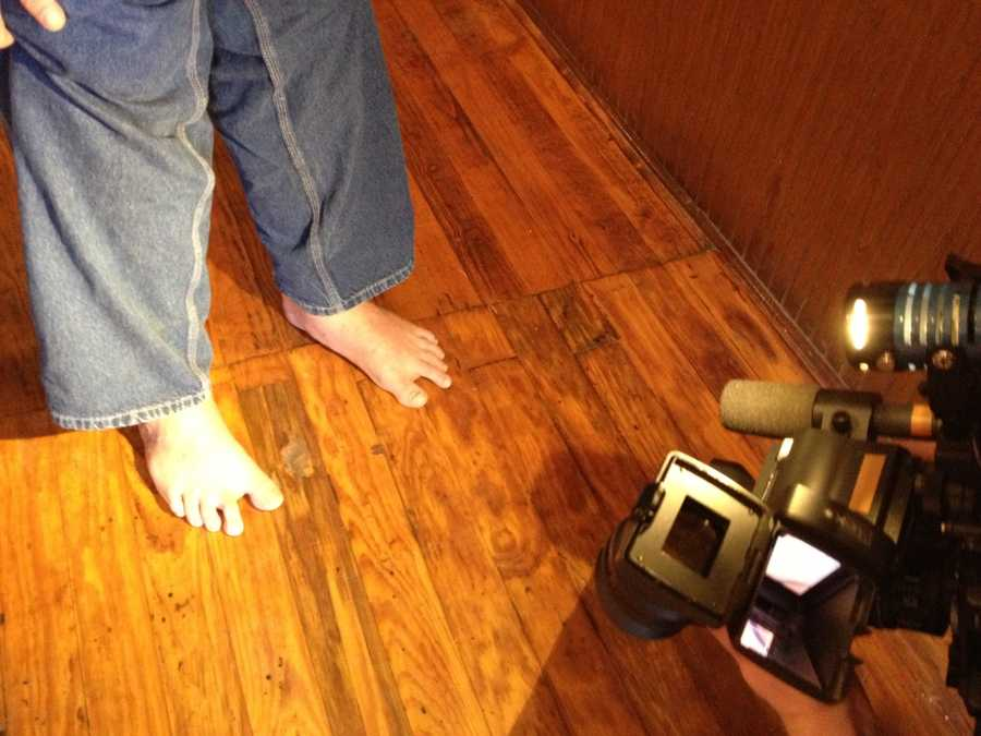 Josh Murray is also known for going barefoot. Click here to find out why.