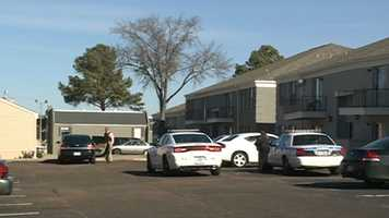 The investigation also led officers to North Hill Square Apartments.