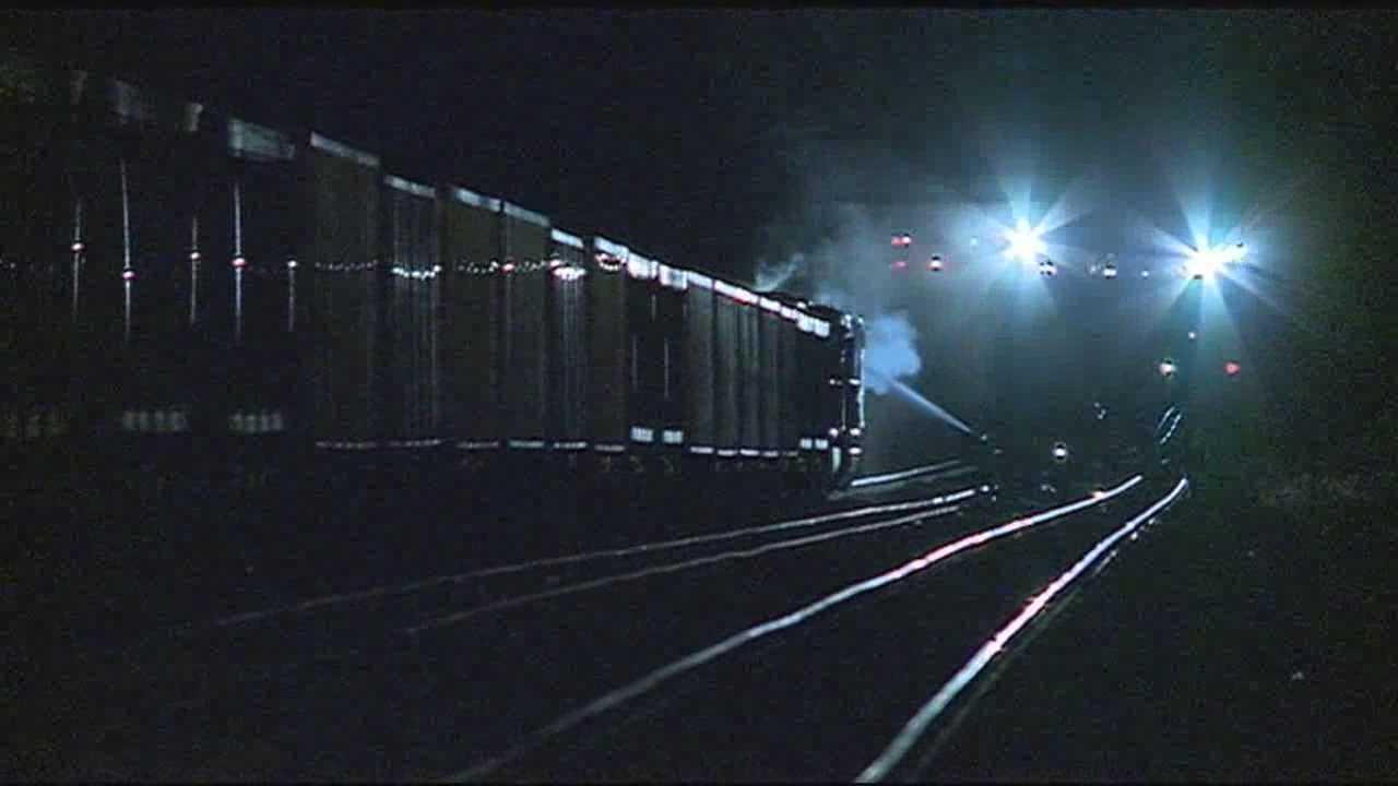 Train fire