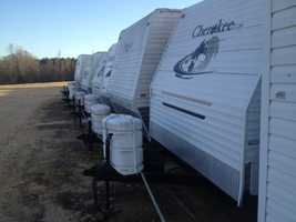 The various items, purchased through Surplus Property in Pearl, included multiple boats, laptop computers, travel trailers and heavy equipment.