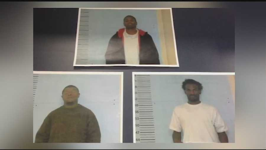 Rodriguez Lyons, Tierre Hill and Kenjarvis Thomas are all charged with attempted murder, armed robbery and burglary in connection with a Warren County home invasion robbery and double shooting.